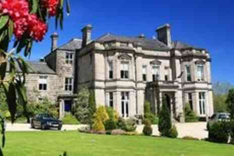Tre Ysgawen Hall Hotel  - Lavish two night getaway with fizz - Save 50%