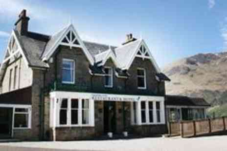 Letterfinlay Lodge Hotel -  Highlands Lochside stay with Three course dinner - Save 49%