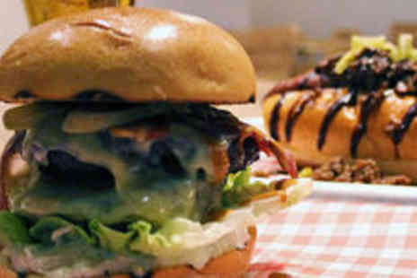 The Crafty Pig - Burger or hot dog with a beer, wine, or soft drink each - Save 0%