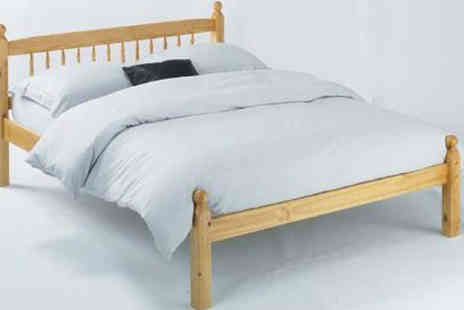 Einfeld - Solid Pine Antique Style Bed - Save 70%