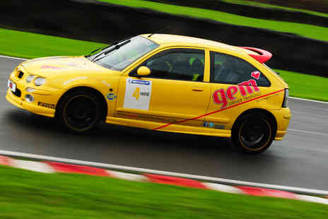 Gem Driver Training - Track car driving taster experience including Six track laps and in car coaching  - Save 56%