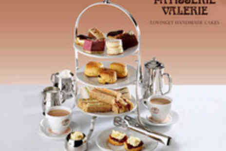 Patisserie Valerie - Amazon Exclusive Afternoon Tea for two - Save 3%