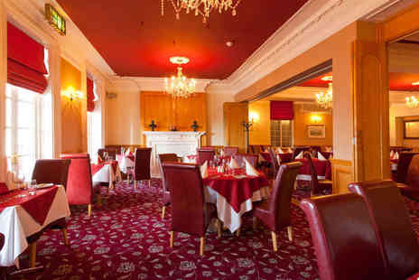 The Royal Hotel - Main Course with Starter or Dessert Each for Two  - Save 37%