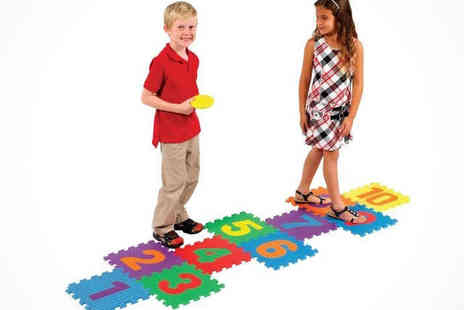 Hop Skip and Jump - Kids Hopscotch Play Set Delivery Included - Save 0%