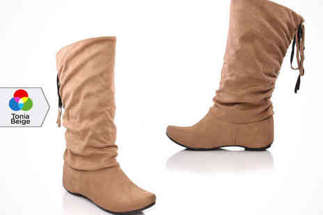 Womens Mid Calf - Womens Mid Calf  or Knee High Boots - Save 56%
