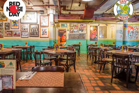 Cafe Pacifico - Fajita Meal and Margarita Cocktail Each for Two  - Save 40%