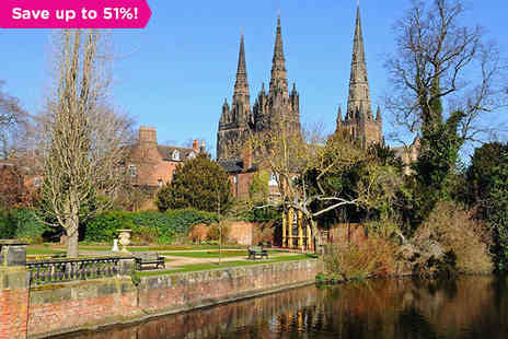 The George Hotel - Two night stay in Staffordshire's Creative Lichfield - Save 51%