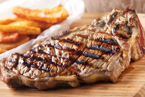 Morenos Moroccan Restaurant - Sirloin or Rib Eye Steak with Chips for Two - Save 51%