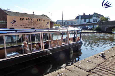 Burscough Boat Hire - Spring Canal Cruise with Afternoon Tea for One - Save 64%