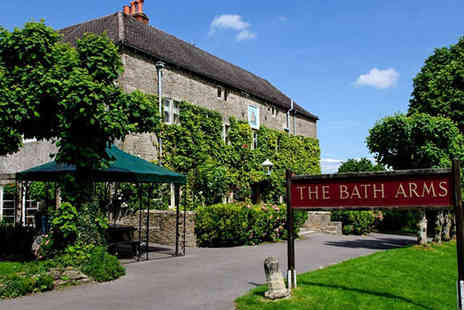 The Bath Arms - Overnight Stay for Two with Chocolates on Arrival, Breakfast, and Late Checkout  Add £20 Dining Credit Per Person  - Save 55%