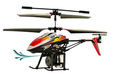 STO Racing Products - Water Firing Remote Control Helicopter - Save 37%