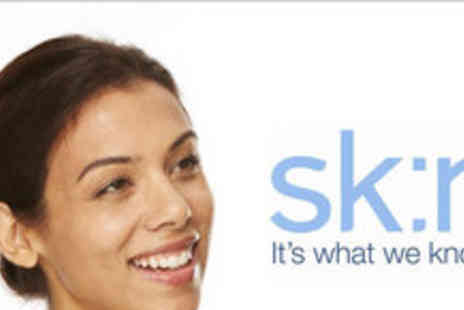 sk:n - Glycolic facial peel plus a pre skin assessment - Save 72%