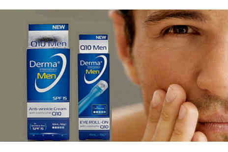 Finishing Touch  - Q10 Mens Anti Wrinkle Set - Save 73%