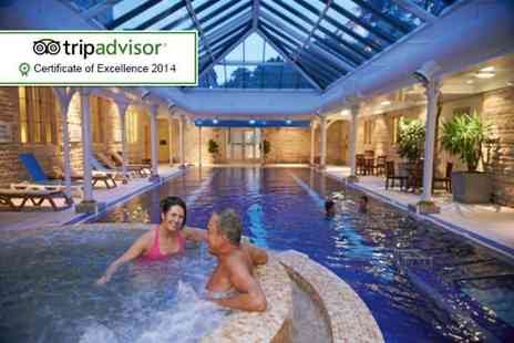 The Spa at Thoresby Hall - Spa day for Two including a Rhassoul mud treatment and Two course lunch  - Save 66%