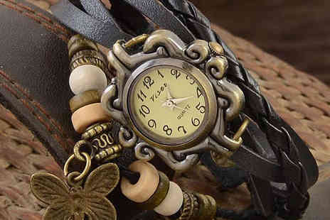 Bohemian Wrapsody - Ladies Leather Bohemian Watch with Delivery Included - Save 84%