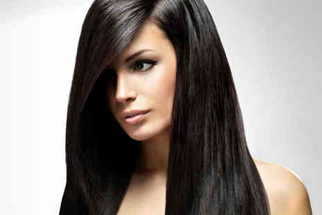Houghs Hair Salon - Haircut and Blow Dry, with Full Head of Colour - Save 54%