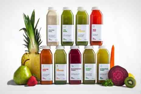 Juice Cleanse UK -  Three, Five or Seven Day The Juice Cleanse Programme  - Save 65%