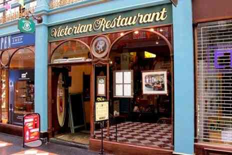The Victorian Restaurant - Afternoon Tea With Wine For Two  - Save 0%