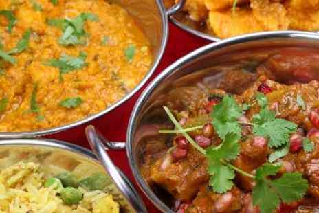 Shimla Pinks - Two Course Indian Meal With Sides For Two  - Save 61%