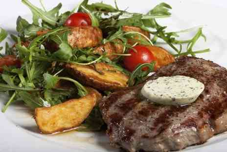 Hilton City Cafe  - Two Courses With Wine or Beer For Two  - Save 55%