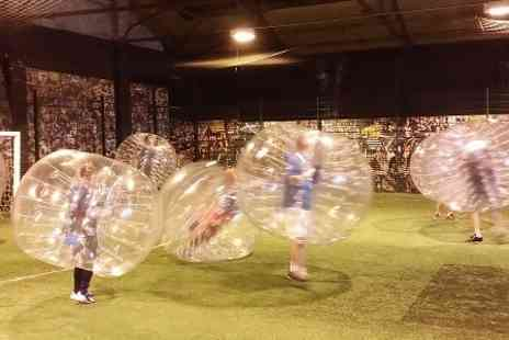 121 Sports Coaching - Bubble Football Game For Up to 14 People  - Save 33%