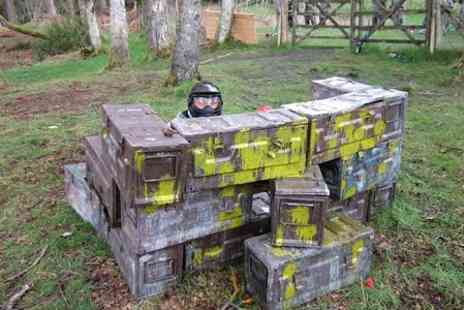 paintball experience - Full Day Session Plus Lunch For Two  - Save 87%