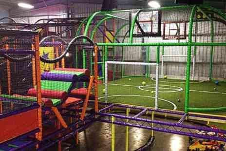 Let Loose Soft Play Centre - Entry, Hot Meal and Drink For One - Save 38%