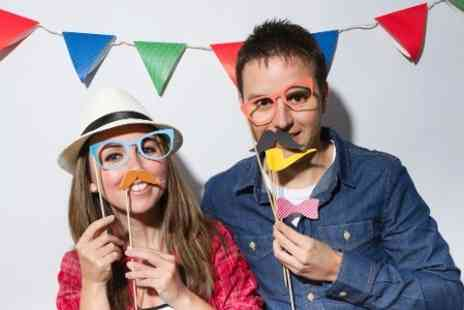 DAM Photography - Two Hour Photobooth Hire With Two Prints Per Person - Save 0%