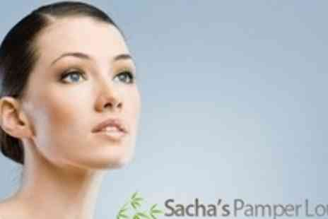 Sachas Pamper Lounge - Back, Neck and Shoulder Massage With Express Facial - Save 58%