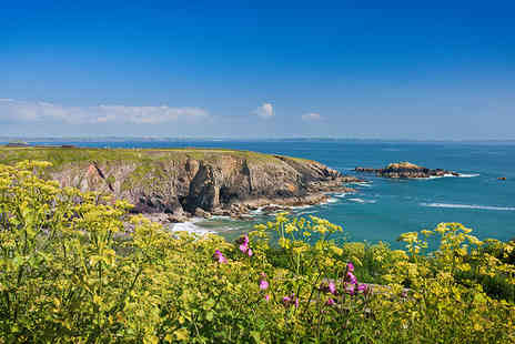 Fishguard Holiday Park - Three night Pembrokeshire coast caravan break for up to 6 - Save 48%