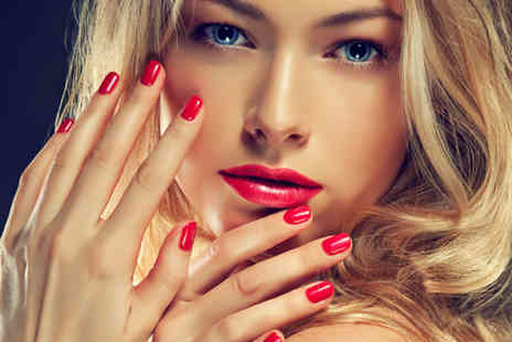 CO2 Hair and Beauty - Shellac fingernail overlays - Save 59%