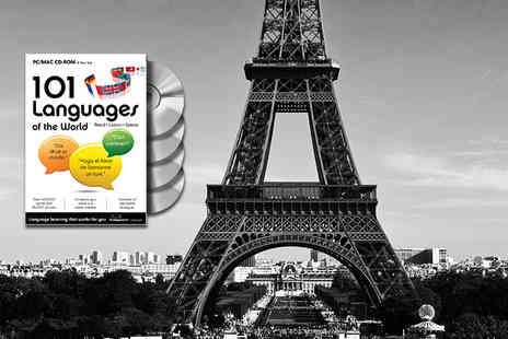 eOutlet - Interactive 101 Languages of the World home CD ROM course - Save 63%