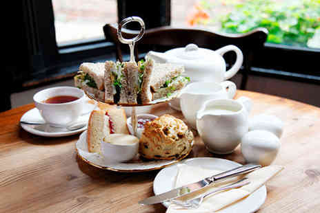 Pied Bull - Afternoon tea for 2  including finger sandwiches, homemade cakes and more - Save 57%