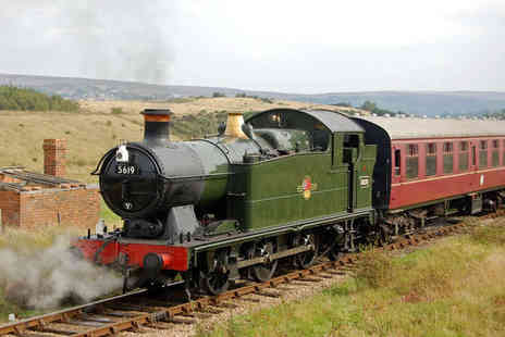 Pontypool and Blaenavon Railway - Steam Train Tickets for One Adult and One Child   - Save 38%
