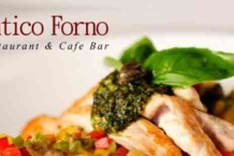 Antico Forno Restaurant & Bar - Two Course Mediterranean Meal For Two - Save 63%