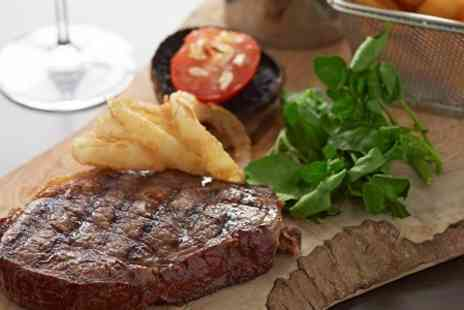 The Marmor Grill - Steak Meal With Cocktail For Two  - Save 59%