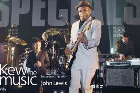 Kilimanjaro Live  - One Ticket  to The Specials at Kew The Music  - Save 0%