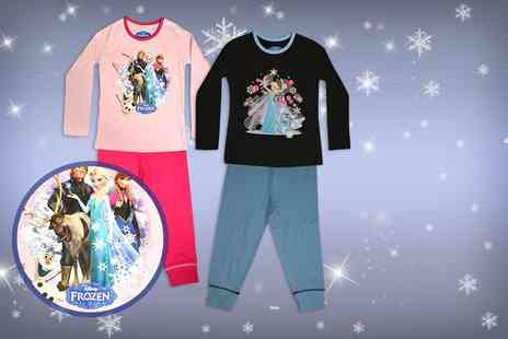 Kitchen Gadgets -  Pair of childrens Frozen pyjamas in pink or blue  - Save 72%