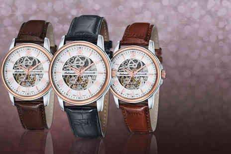 Mainspring Boutique - Automatic Earnshaw Beagle watch in a choice of 3 colours - Save 83%