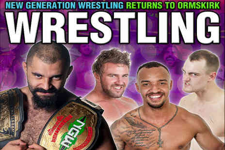 New Generation -Ticket to see New Generation Wrestling live  - Save 50%