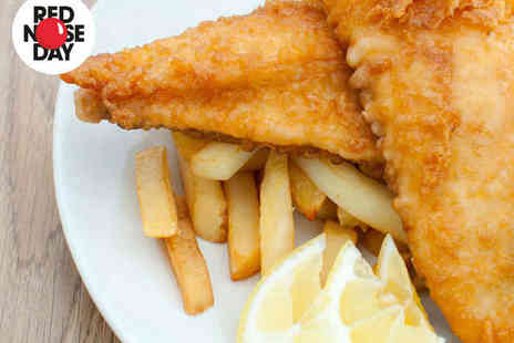 Monte Carlo Chippy - Portion of Cod, Chips, Mushy Peas, Onions Rings, and Bottle of Coke Each for Two - Save 53%