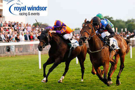 Royal Windsor Racecourse - Two Tickets to The Royal Windsor Racecourse with Racecard and Parking - Save 48%