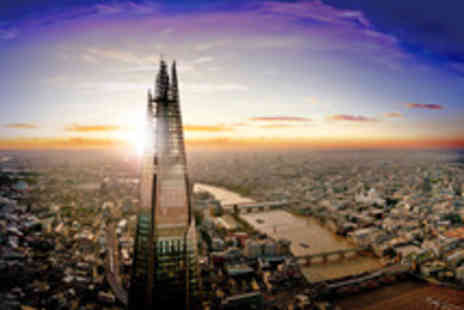 The View from The Shard - Tickets to The View from The Shard with a Guide and Champagne Option - Save 13%