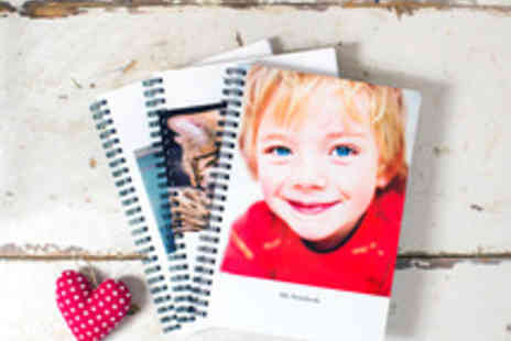 Huggler - Personalised Ring Bound Photo Notebook in a Choice of Sizes - Save 55%