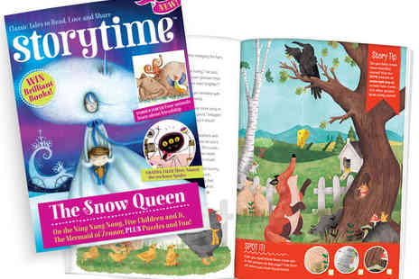 Luma Works - Six Month Subscription to Storytime Magazine for Kids and Parents - Save 53%