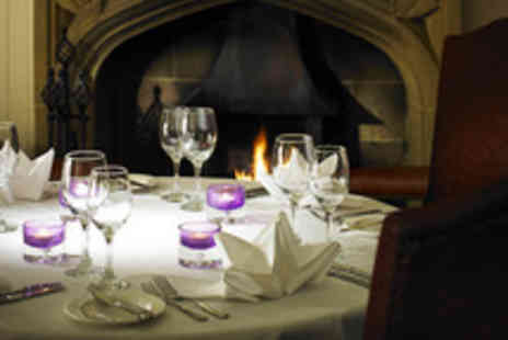 The Stirling Highland Hotel - Two Course Champagne Lunch for Two  - Save 47%