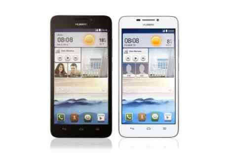 "Yellowstone Partners - Huawei Ascend G630 5"" Quad Core Smartphone  - Save 36%"
