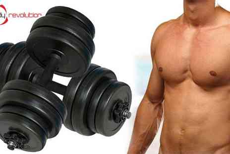 Pocket Media - Body Revolution Vinyl Dumbbell Set  - Save 40%