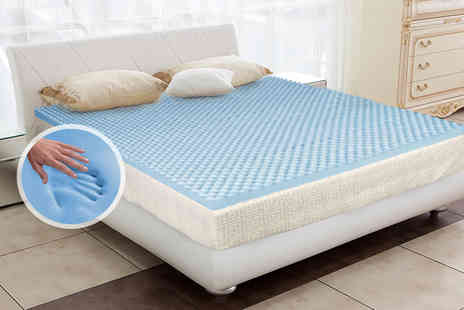 Sleep Solutions - Single CoolBlue mattress topper  - Save 48%