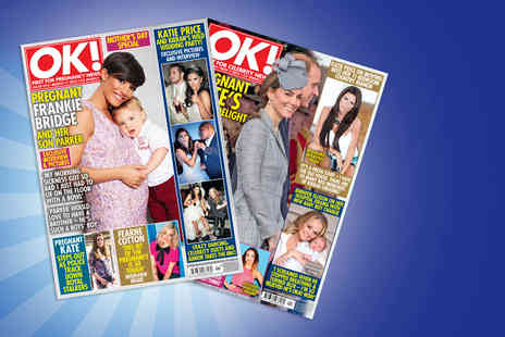 Northern and Shell -  Six month 26 issue subscription to OK! Magazine Plus Delivery Included  - Save 63%